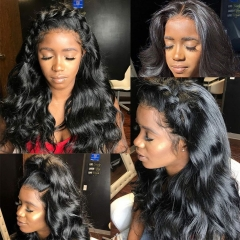 250% Density HD lace wig 13X4 Lace Frontal Wig, Undetectable Swiss Lace, Preplucked Body Wave Frontal Lace Wig