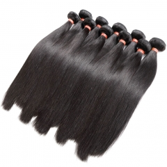 Wholesale Brazilian Straight Virgin Hair 3 Bundles 10A Unprocessed 100% Human Hair  Straight Bundles Sale