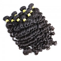 Brazilian Virgin Hair Natural Wave 100% Unprocessed Human Hair Natural Wave Bundles Wholesale 3 Bundles Deal