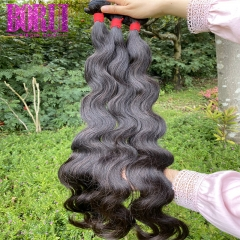 BoRui Hair Body Wave Bundles Brazilian Hair Weave Bundles 100% Human Hair Bundles 3 Bundles Brazilian Body Wave Hair