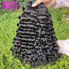 Water Wave Bundles Brazilian 100% Human Hair Weave Bundles Natural Color Hair Extensions BoRui Remy Hair