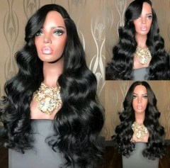 Transparent Lace 13x4 lace Wig Body Wave Lace Wig Preplucked with Baby hair Cambodian Hair